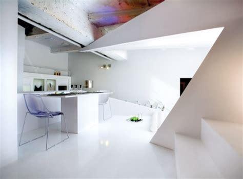 Origami Interior Design - small apartment futuristic interior design digsdigs