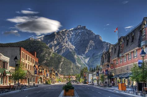 scenic town canada city wallpaper wallpaper