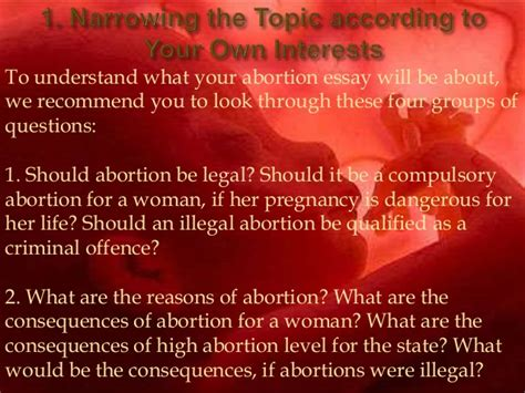 Reasons Why Abortion Should Be Illegal Essay by Abortion Essay