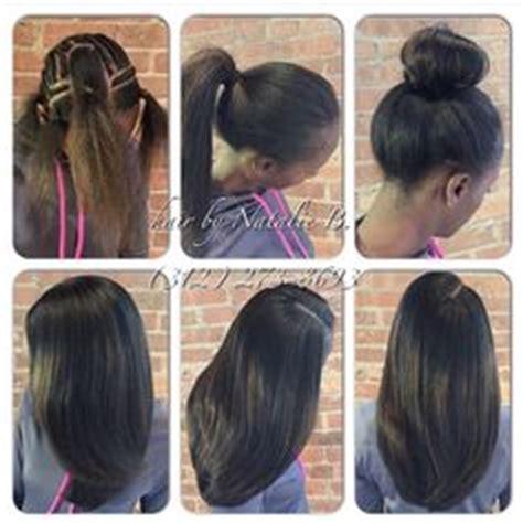 how do a parial sewin to add length to medium hair 2 way straight hair crochet crochet hairstyles