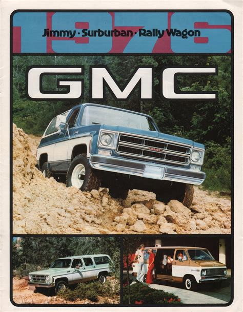 1993 gmc suburban oil type specs view manufacturer details 1976 jimmy suburban and rally van gmc sales brochure