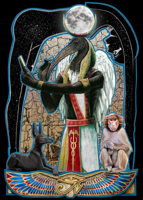 thoth by janiceduke on deviantart