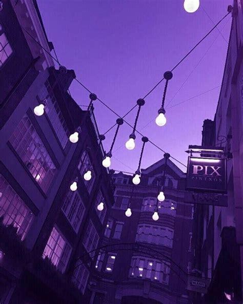 purple aesthetic kpop latar belakang pemandangan