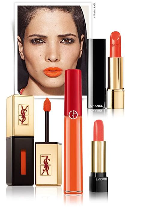 Chanel Lipstick Orange orange is the new make up and products