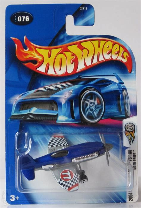 Hw Enzo Speed Machine Hotwheels Miniatur Diecast 1 2004 wheels editions 076 madd propz blue wheels line cars trucks