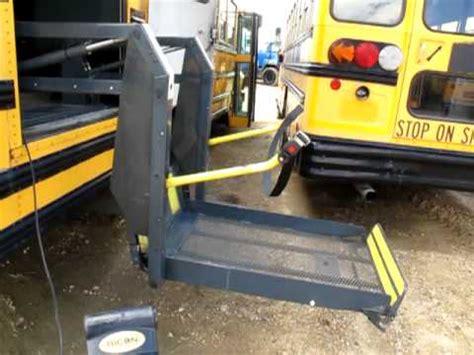1990 bluebirth bus wheel chair accesible youtube