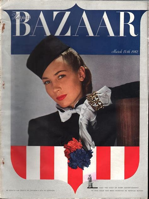s bazaar march 15 1942 harpers bazaar