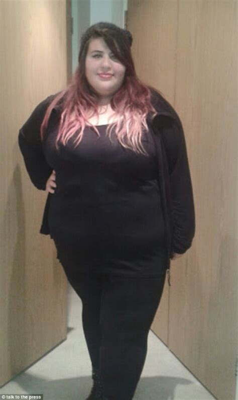 fat girlfriend gaining weight obese woman whose husband called her fat loses nine stone