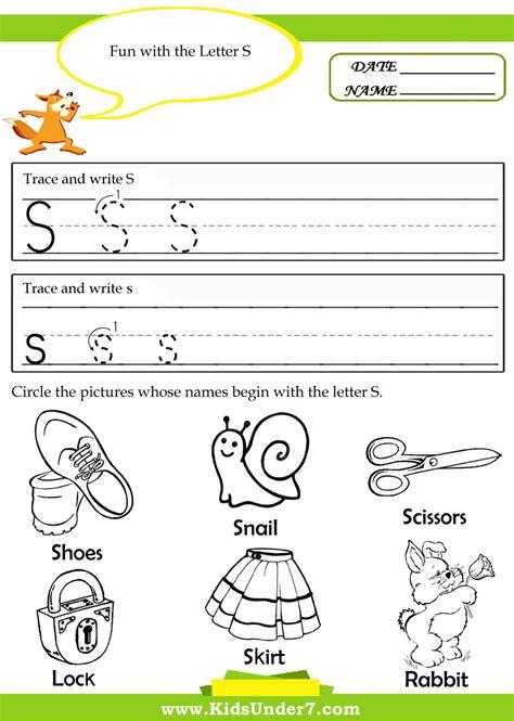S Worksheet by Letter S Worksheets For Kindergarten 13 Best Images Of Letter S Worksheets For Kindergarten