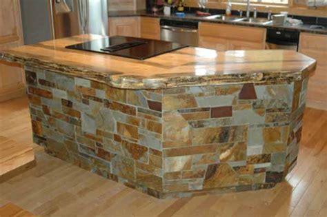 custom log kitchen dining