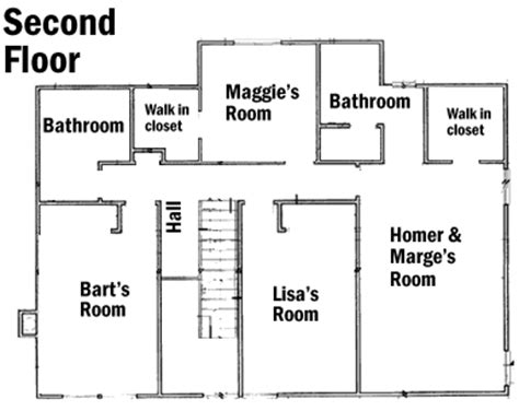 742 evergreen terrace floor plan the best 28 images of 742 evergreen terrace floor plan