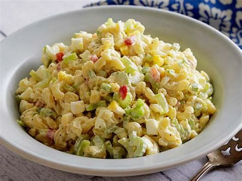 macaroni salad recipes macaroni salad recipe paula deen food network