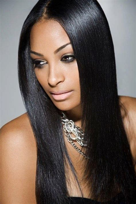 straight weave on pinterest 184 best images about black weave hairstyles long silky