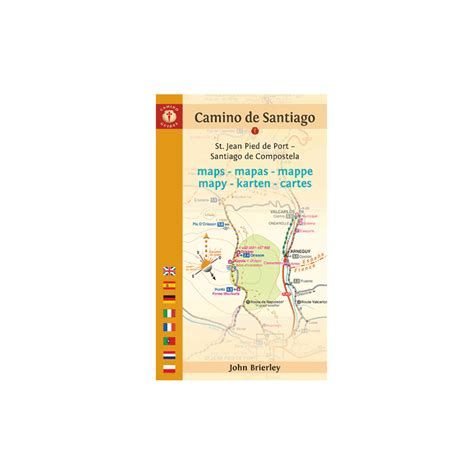 brierley camino brierley maps only guide to the camino de santiago