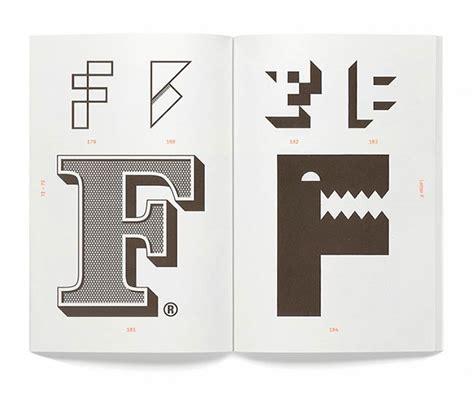 typography counter alphabet logo from counter print logo design