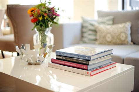 best home design coffee table books use coffee table books as decor fashionable hostess