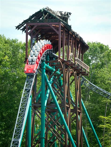 roller coaster verbolten at busch gardens williamsburg