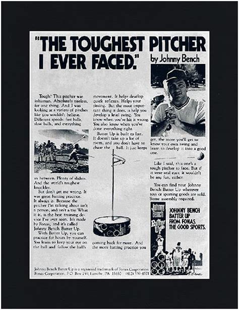 johnny bench batter up for sale johnny bench batter up 28 images vintage johnny bench