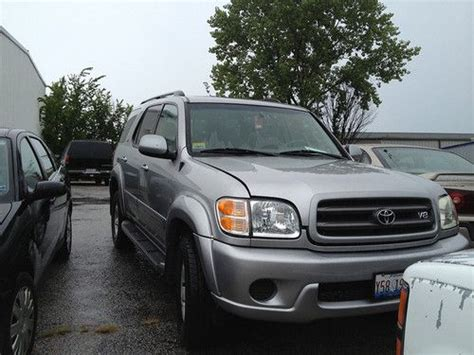 how do cars engines work 2001 toyota sequoia head up display sell used 2001 toyota sequoia sr5 silver needs new radiator and engine in columbia missouri