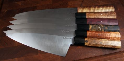 buying kitchen knives a beginner s guide to buying custom kitchen knives