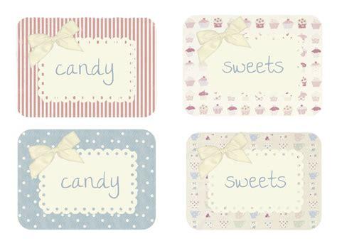 sweet labels template misslikey february 2012