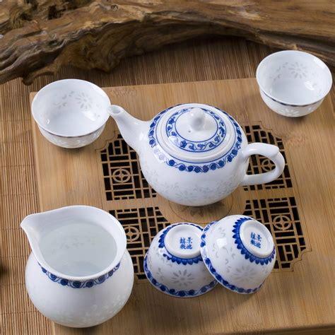 Handcrafted Tea - handcrafted tea cups ceramic set porcelain gift kung fu