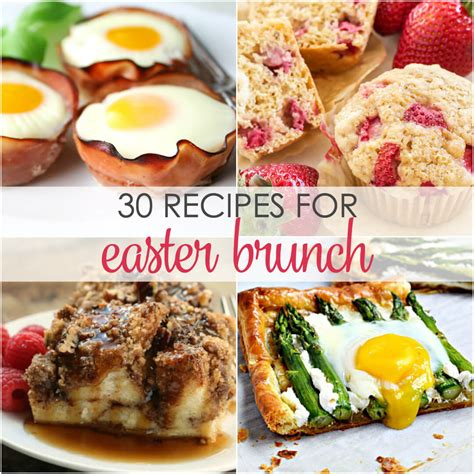 30 easter brunch recipes it is a keeper