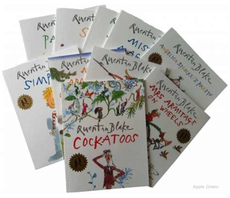 libro quentin blake collection 10 quentin blake 10 picture books collection angelica sprokets pockets mrs armitage on wheels