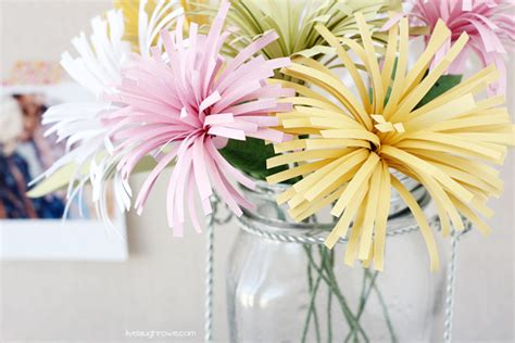 How To Make Paper Mums - think 25 diy projects latta creations