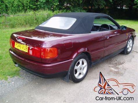 audi 80 convertible for sale audi 80 convertible 1997 2 0 ltr