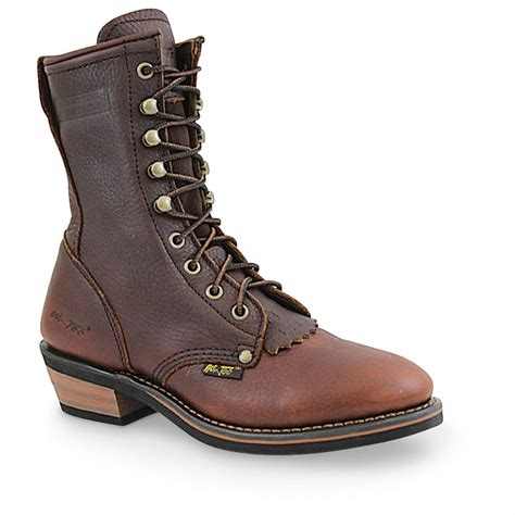 s ad tec 174 8 quot packer boots brown 303865 work