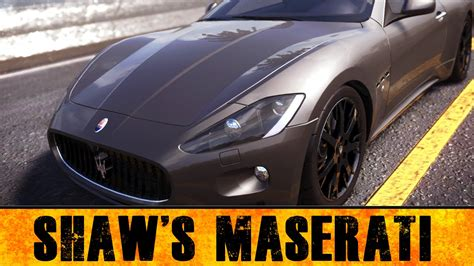 How Fast Is A Maserati by Shaw S Maserati Fast And Furious Car Build