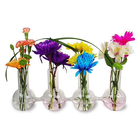 Wholesale Bud Vases by Wholesale Interconnected Bud Vase Spheres Clear Overall