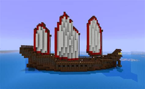 minecraft asian boat a fleet of chinese ships minecraft project