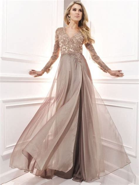 long sleeve lace prom dress   bb fashion