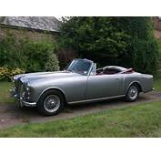 For Sale 1960 Alvis TD 21 Series 1 Convertible Manual