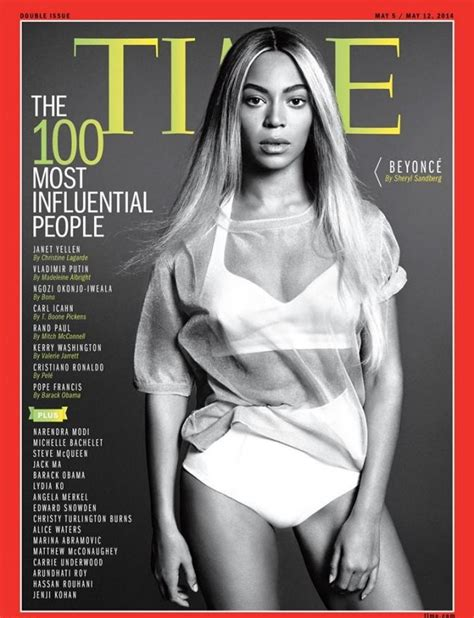 Beyonce On The Cover Of by Beyonce Featured On Cover Of Time Magazine S 100 Most