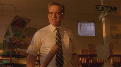 Falling Down 1993 Film Old School Review Falling Down 1993 Slip Through Entertainment You Don T Want To Slip