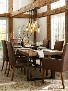 Rustic Lantern Chandelier Dining Room Lamps Great Examples Of Hanging Lamps And