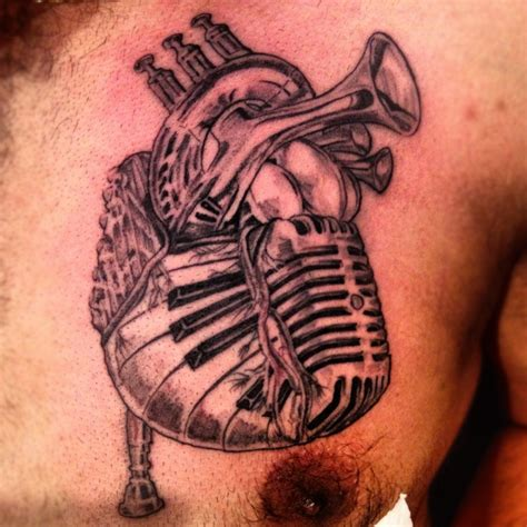 heart music note tattoo musical show me a with a and i ll show