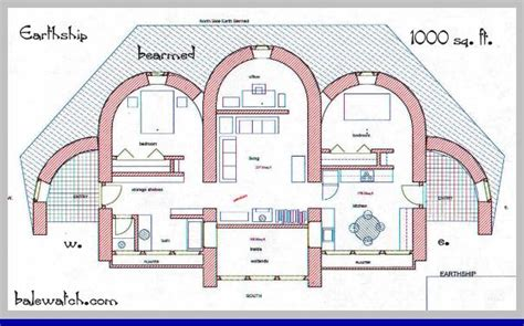 earthship floor plans earthship biotecture the green grid