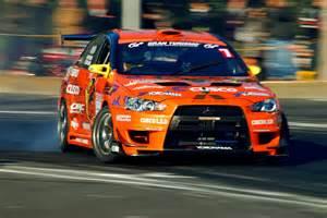 Mitsubishi Drift Cars Team Orange Evo 10 Flickr Photo