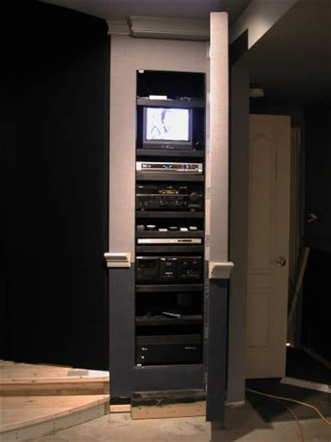 Closet Theater by 43 Best Images About Home Theater On Storage