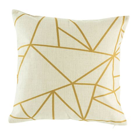 gold pattern cushion buy asta impressions cushion cover 45cm online simply