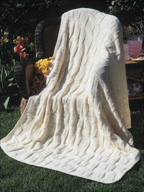 reversible afghan knitting pattern classic afghan knitting patterns reversible square in a