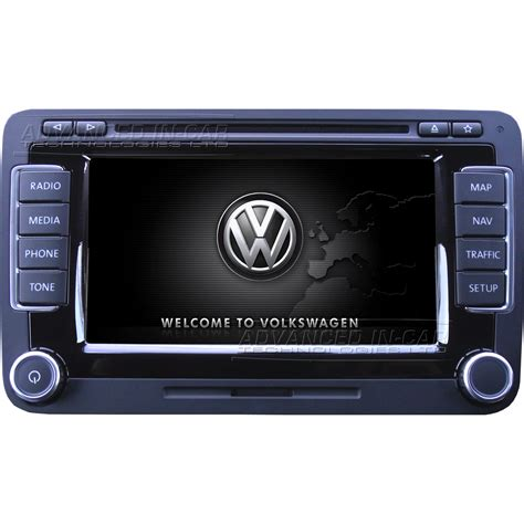 Volkswagen Rns 510 volkswagen vw rns 510 sat nav retrofit advanced in car