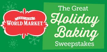 Cost Plus Gift Card - cost plus world market great holiday baking win a giveawayus com