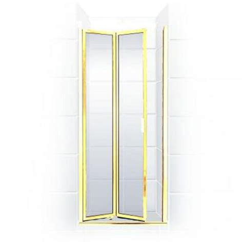 28 Shower Door Coastal Shower Doors Paragon Series 28 In X 66 In Framed Bi Fold Hinged Shower Door In
