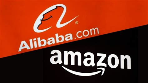 alibaba or aliexpress by the numbers amazon vs alibaba infographic