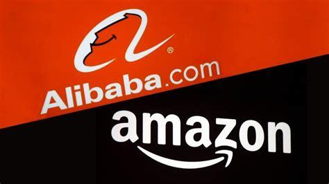 alibaba or amazon by the numbers amazon vs alibaba infographic